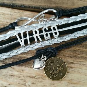 Virgo bracelet for the practical Virgo in ur life!